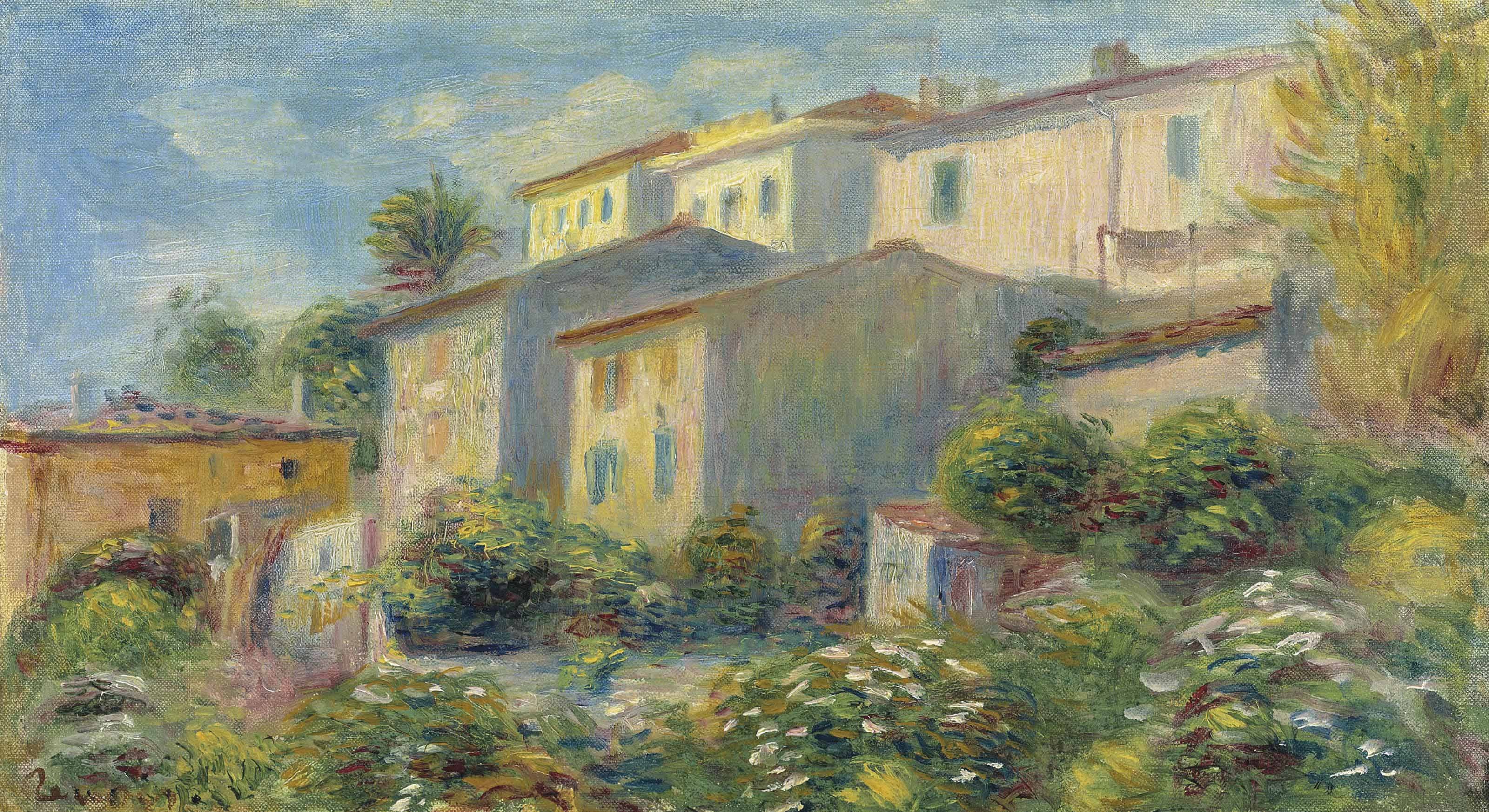House at cagnes 1907 xx private collection
